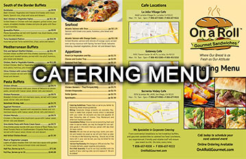 onaroll-catering-menu